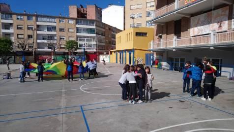 Recreos cooperativos e inclusivos